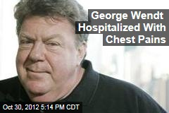 George Wendt Hospitalized With Chest Pains