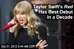 Taylor Swift's Red Has Best Debut in a Decade