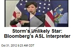 Storm's Unlikely Star: Bloomberg's ASL Interpreter