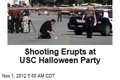 Shooting Erupts at USC Halloween Party