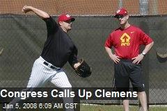 Congress Calls Up Clemens