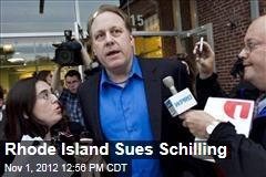 Rhode Island Sues Schilling