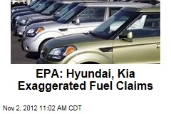 EPA: Hyundai, Kia Exaggerated Fuel Claims