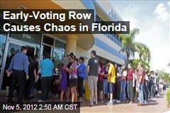 Early Voting Row Causes Chaos in Florida