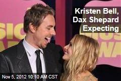 Kristen Bell, Dax Shepard Expecting