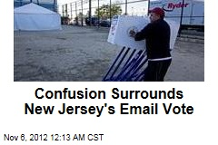 Confusion Surrounds New Jersey's Email Vote