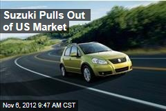 Suzuki Pulls Out of US Market