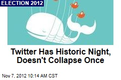 Twitter Has Historic Night, Doesn't Collapse Once