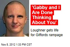 Gabby Giffords Doesn't Speak at Loughner Sentencing