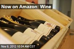 Now on Amazon: Wine