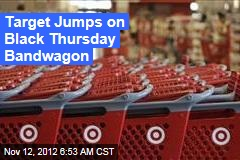 Target Jumps on Black Thursday Bandwagon