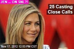 25 Casting Close Calls
