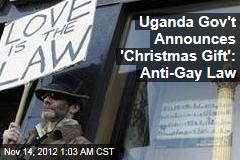 Uganda To Pass Harsh Anti-Gay Law