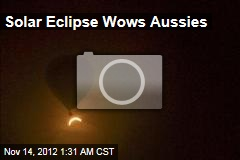 Solar Eclipse Wows Aussies