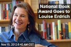 National Book Award Goes to Louise Erdrich