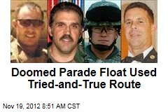 Doomed Parade Float Used Tried-and-True Route