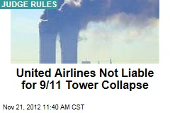 United Airlines Not Liable for 9/11 Tower Collapse