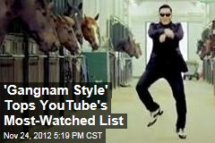 'Gangnam Style' Tops Justin Bieber on YouTube