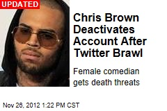 Chris Brown Deactivates Account After Twitter Brawl
