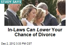 In-Laws Can Lower Your Chance of Divorce