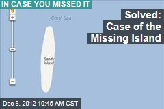 Solved: Case of the Missing Island
