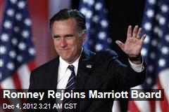 Romney Rejoins Marriott Board