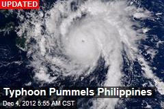 Typhoon Pummels Philippines