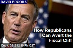 How Republicans Can Avert the Fiscal Cliff