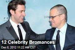 12 Celebrity Bromances