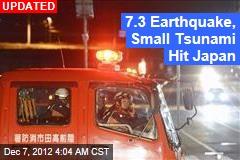Earthquake Off Japan Prompts Tsunami Warning