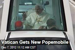 Vatican Gets a New Popemobile
