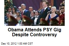 Obama Attends PSY Gig Despite Controversy