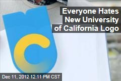 Everyone Hates New University of California Logo