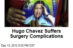 Hugo Chavez Suffers Complications From Surgery