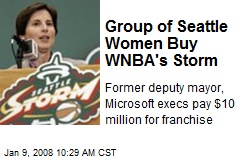 Group of Seattle Women Buy WNBA's Storm