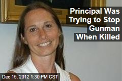 Principal Was Trying to Stop Gunman When Killed