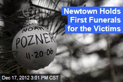 Newtown Holds First Funerals for the Victims