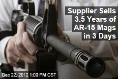Supplier Sells 3.5 Years of AR-15 Clips in 3 Days