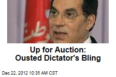 Up for Auction: Ousted Dictator's Bling
