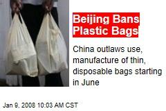 Beijing Bans Plastic Bags