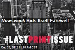 Newsweek Bids Itself Farewell