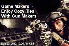 Game Makers Enjoy Cozy Ties With Gun Makers