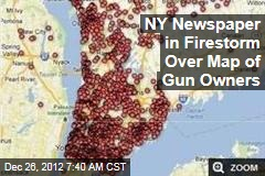 NY Newspaper in Firestorm Over Map of Gun Owners