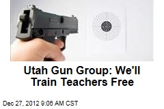 Utah Gun Group: We'll Train Teachers Free