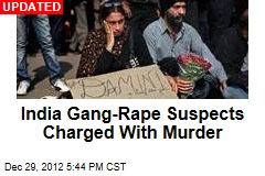 India Gang Rape Suspects Now Face Death Penalty