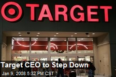 Target CEO to Step Down