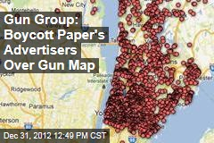 Gun Group: Boycott Paper's Advertisers Over Gun Map