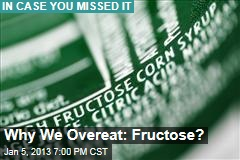 Why We Overeat: Fructose?