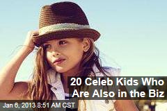 20 Celeb Kids Who Are Also in the Biz