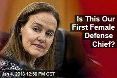 Is This Our First Female Defense Chief?